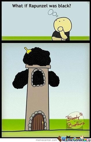 If Rapunzel Was Black..