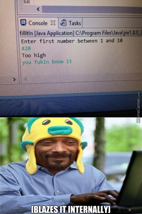 If Snoop Dogg Wrote Computer Programs