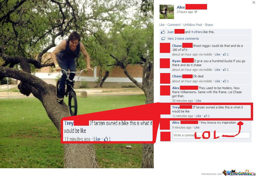 If Tarzan Had A Bike