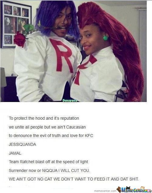 If Team Rocket Was Black