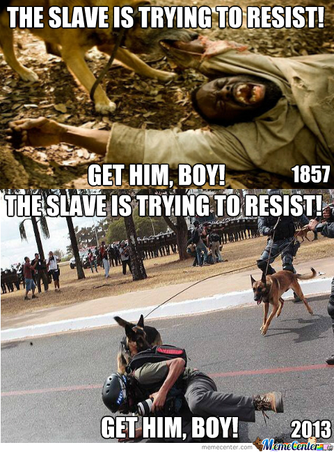 If The Slave Thinks He Is Free, Then He Will Not Resist. But Some Have Realised The Truth