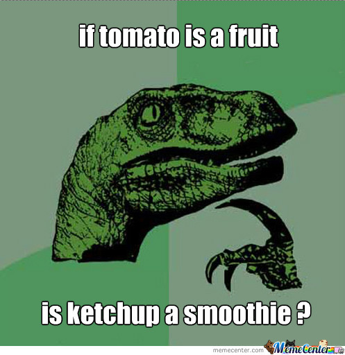 If Tomato Is A Fruit Is Ketchup A Smoothie