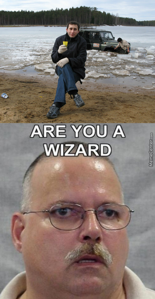 If You Are A Wizard , Could Give Summon A Fuck To The Poor Guy Behind You ?