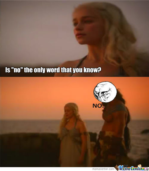 If You Try To Teach A Dothraki The Common Tongue, You're Gonna Have A Bad Time