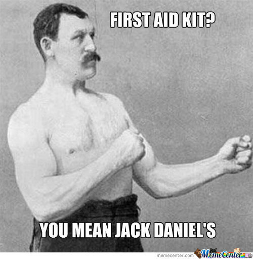 I'll Go For The First Aid Kit