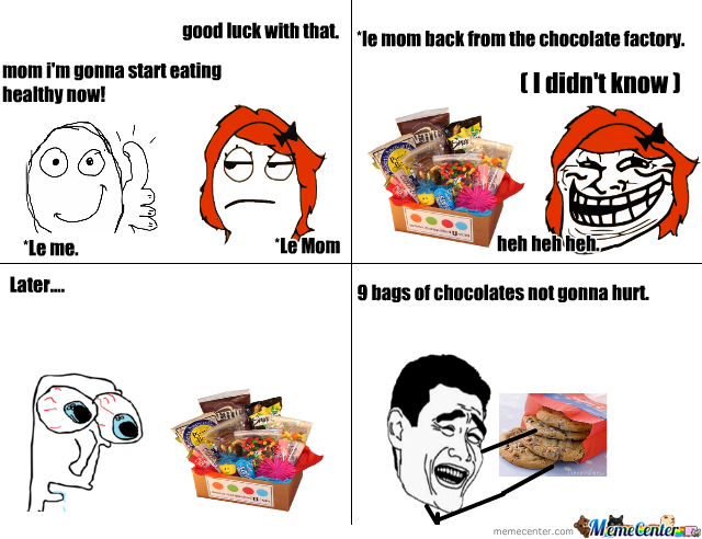 Funny Healthy Eating Meme : I m gonna start eating healthy wait what by zamantha