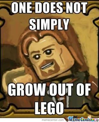 Im Just About The Only Kid That Didin't Get A F***in Console, Lego's Much Better