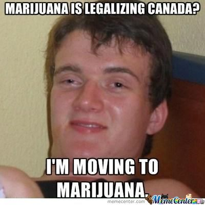 I'm Moving To Marijuana