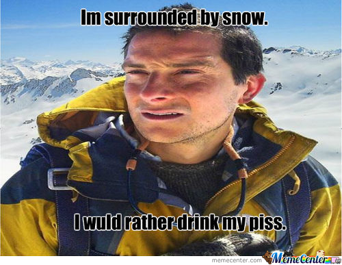 Im Surrounded By Snow...