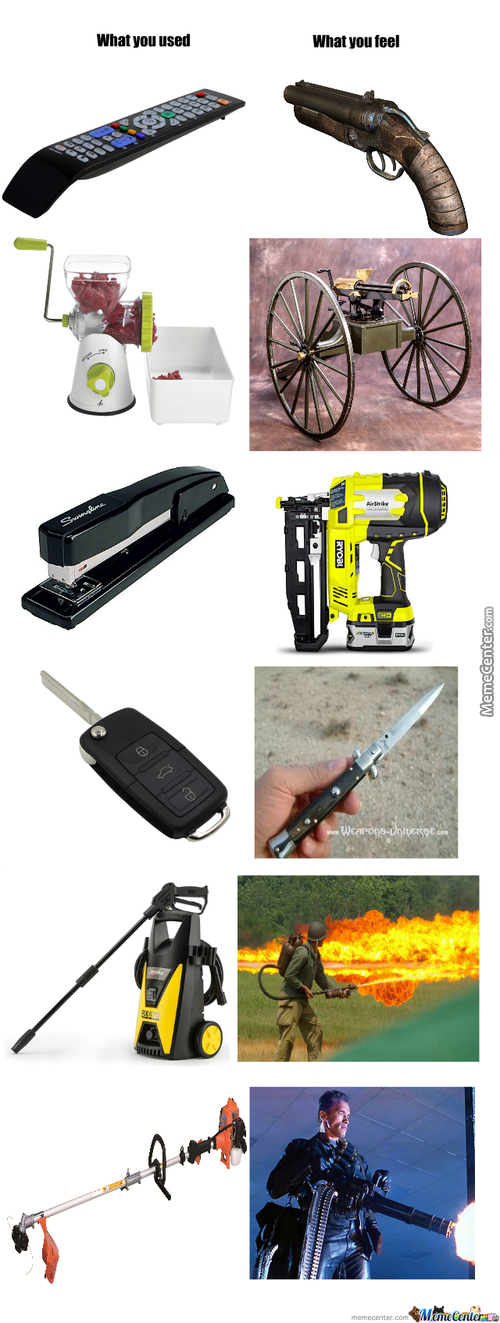 Imagery Weapons
