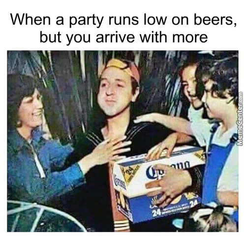Implying I Go To Parties