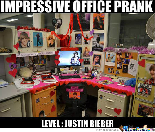 Impressive Office Prank