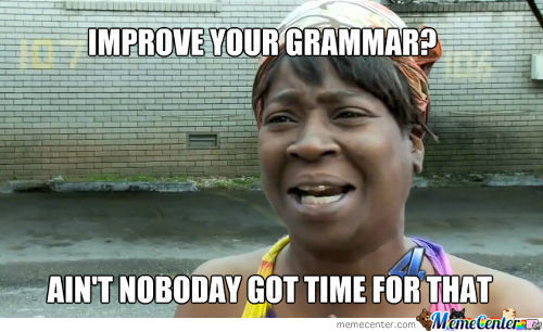 Improve Your Grammar?