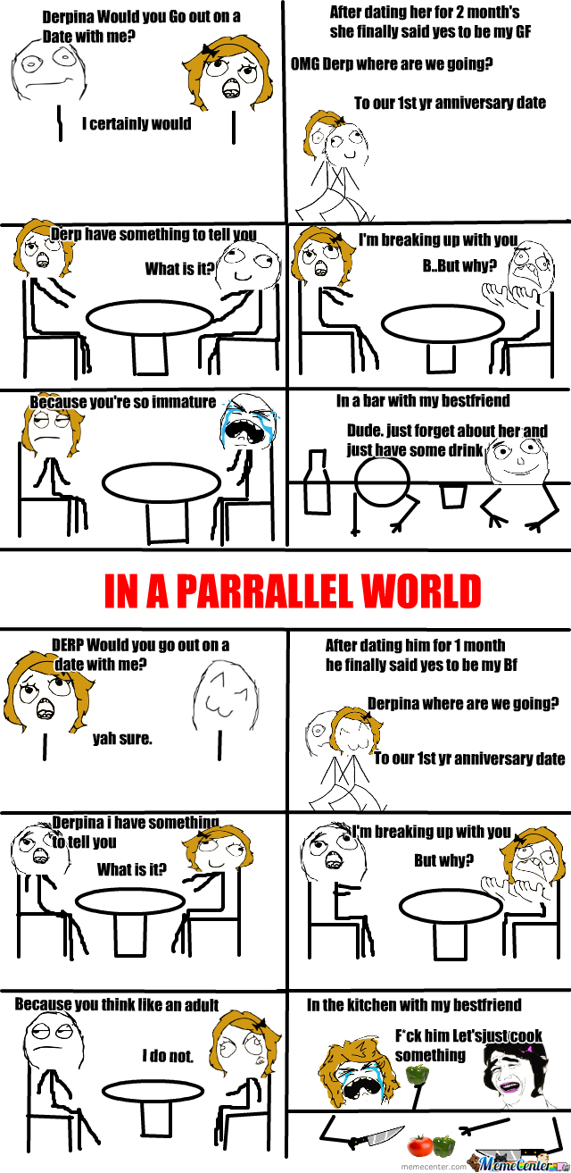 In A Parrallel World