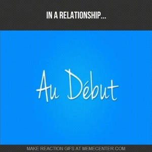 at the beginning of relationship center