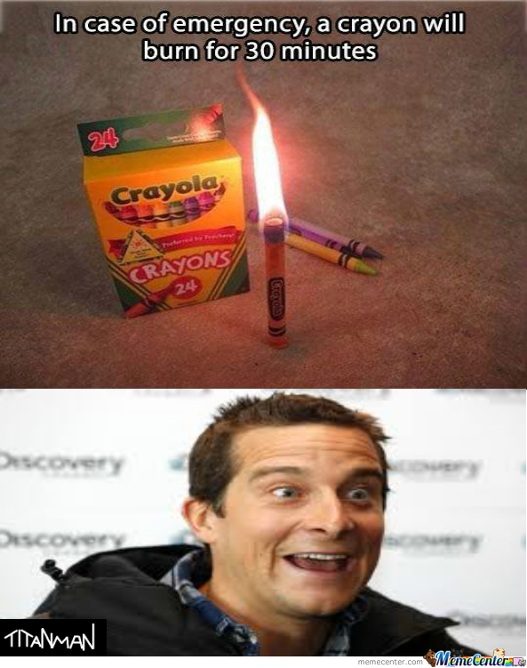 In Case Of Emergency,bear Grylls Could Make A Wildfire With Those.