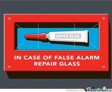 In Case Of False Alarm