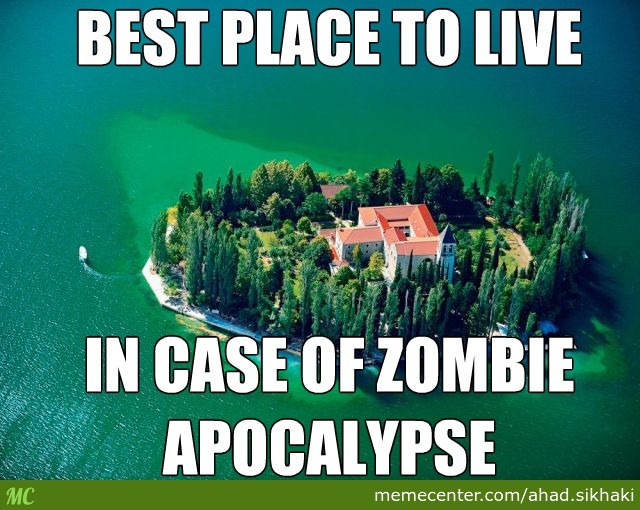 In Case Of Zombie Apocalypse