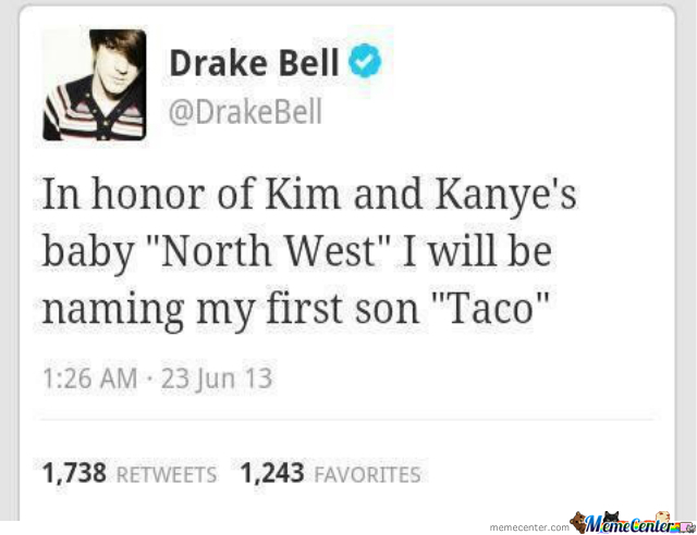 "In Honour Of ""north West"""