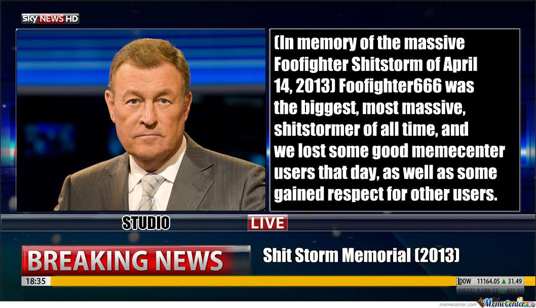 In Memorial Of The 5/14 Shitstorm