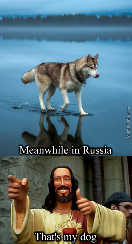 In Mother Russia You Save Jesus