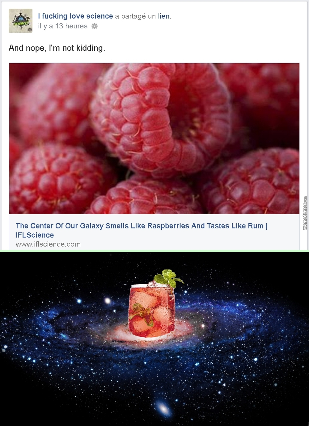 In Other News, The Center Of The Galaxy Is A Glass Of Punch.