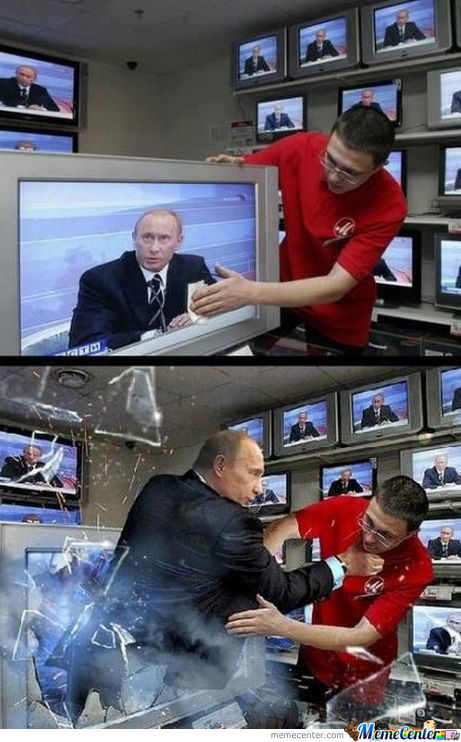 In Soviet Russia, Tv Wipes You... Wait, What?