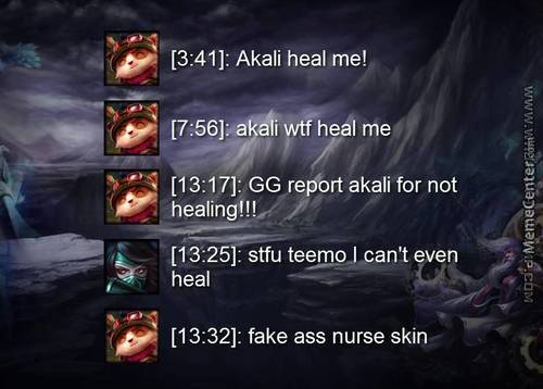 In The Life Of Teemo
