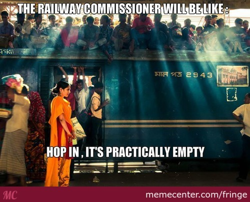 The Railway Commisioner will be like