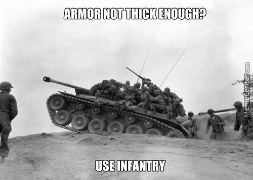 Infantry Armor So Stronk