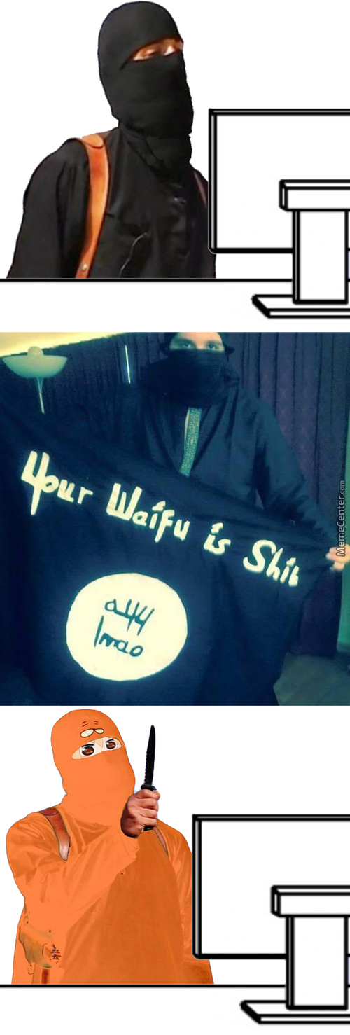 Infighting Among The Isis Brotherhood Due To Waifu Elitism