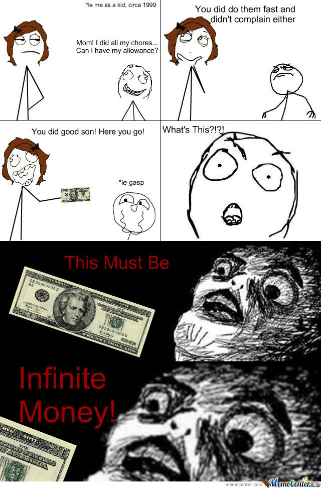 Infinite Money