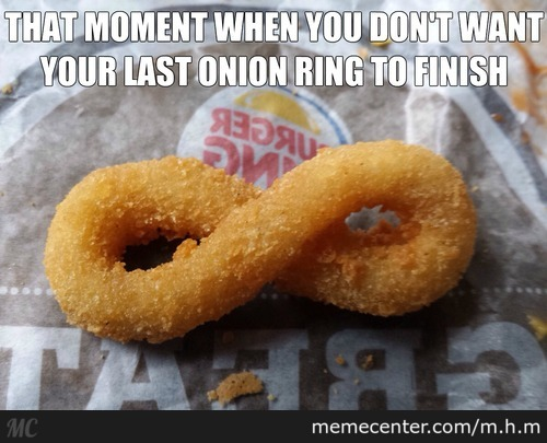Infinity Onion Ring