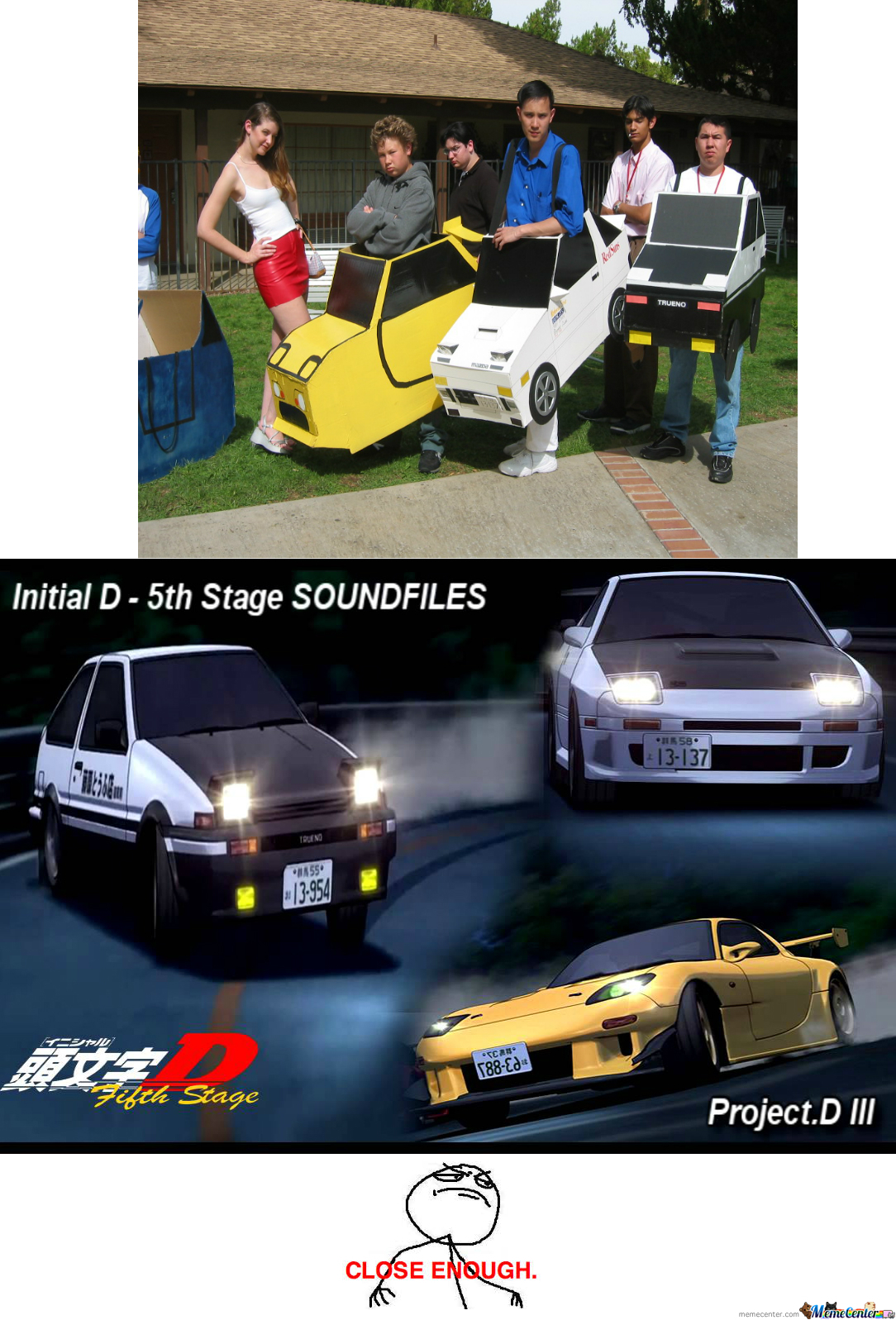 Initial D Cartoon Characters : Initial d cosplay by recyclebin meme center