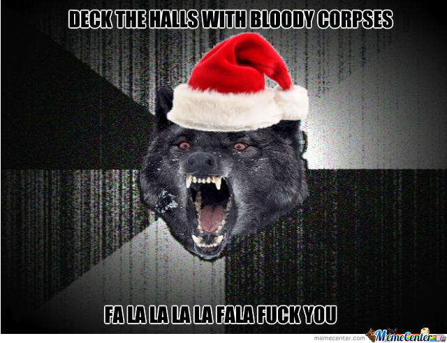 Insanity Wolf Christmas