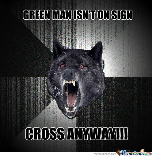 Insanity Wolf Crossing