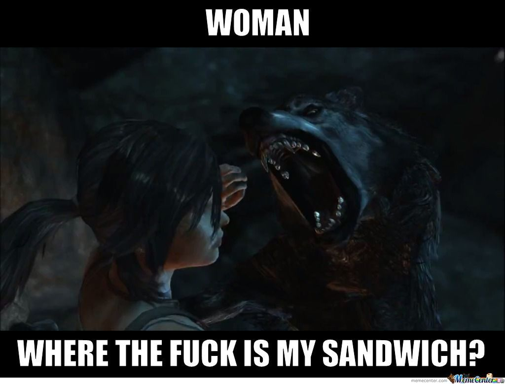 Insanity Wolf Wants His Sandwich