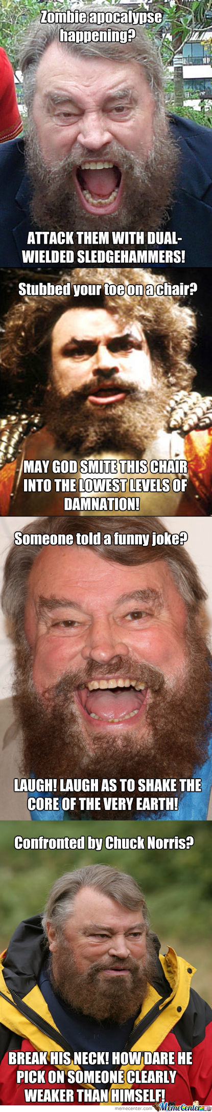 Instant Brian Blessed