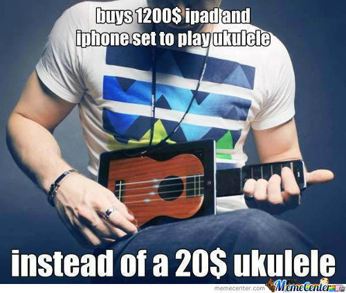 Instead Of A 20$ Ukulele..