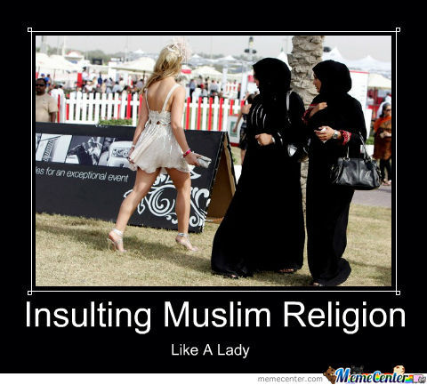 Insulting Muslims