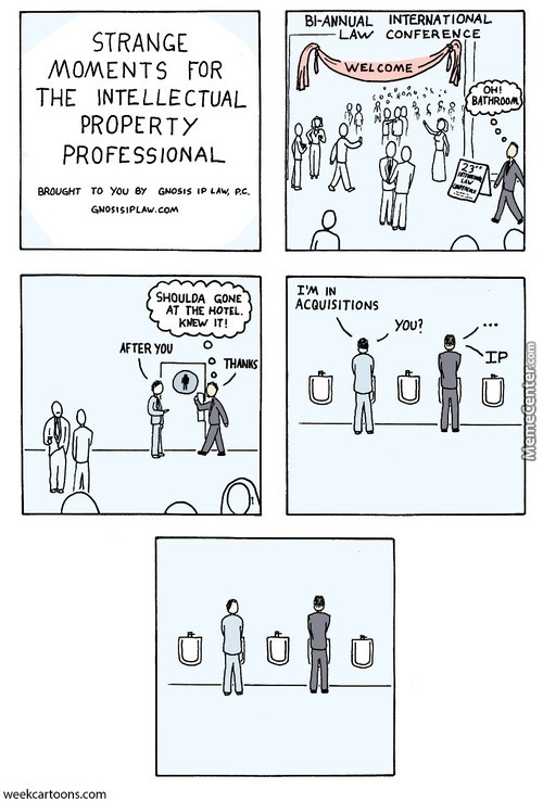 Intellectual Property Toilet Humor