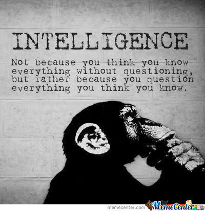 Intelligence! Mind Fu*k