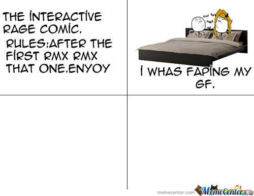 Interactive Rage Comic