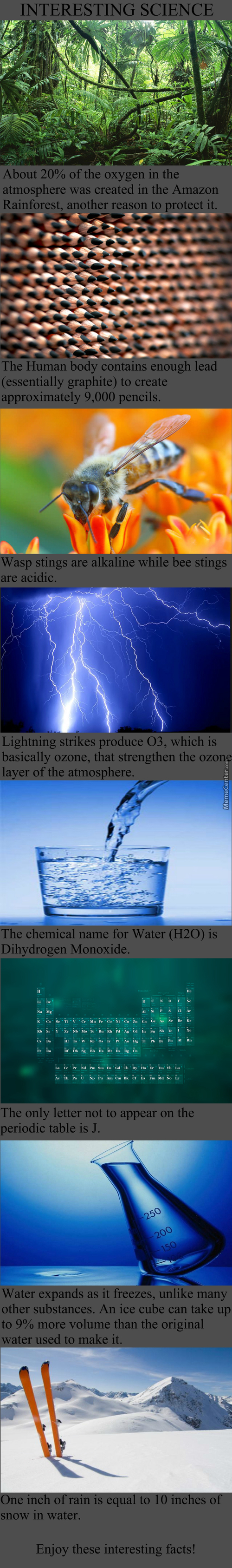 Interesting Science #1