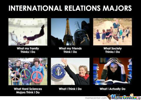 International Relation Majors