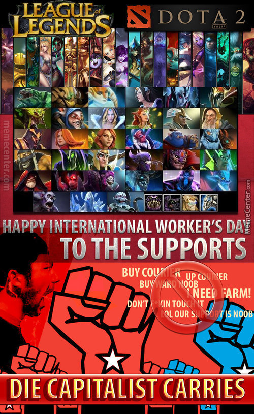 International Workers Day For Supports
