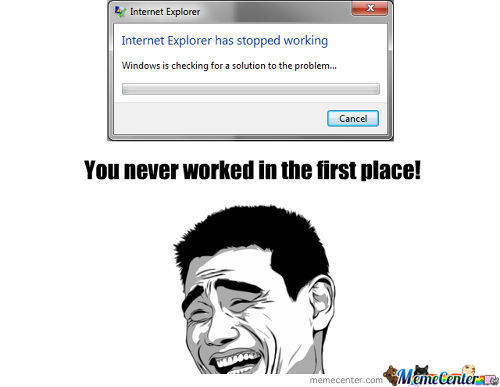 Internet Explorer Logic