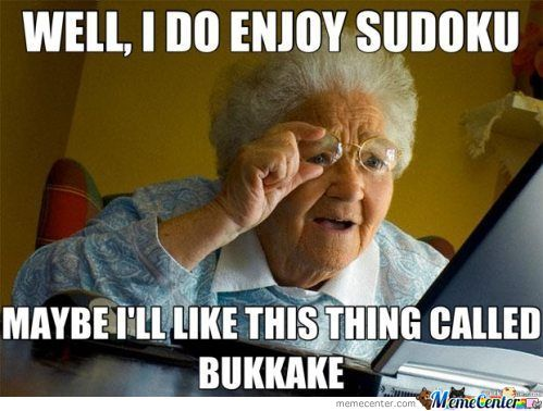 Internet Old Lady