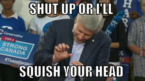 Introducing Canada's New Pm: Squishy Harper