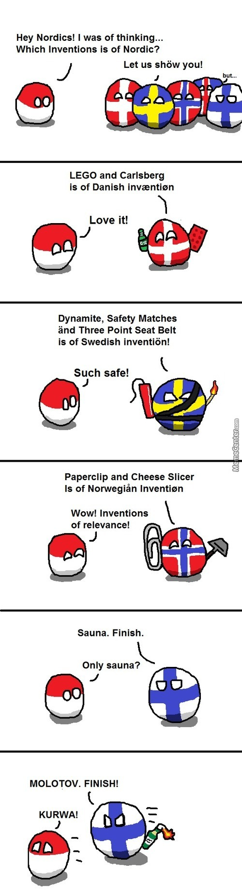 Invention Of Nordics